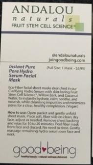 mask info card (back)