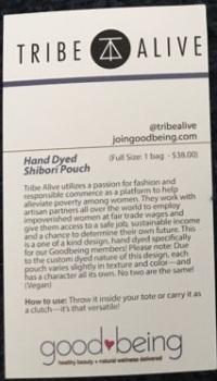 bag info card (back)