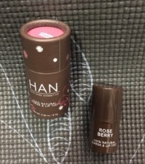 Han Cheek & Lip Tint in Rose Berry Packaging
