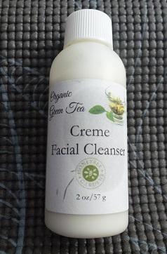 Organic Green Tea Creme Facial Cleanser