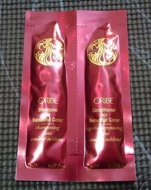 Oribe Shampoo and Conditioner samples