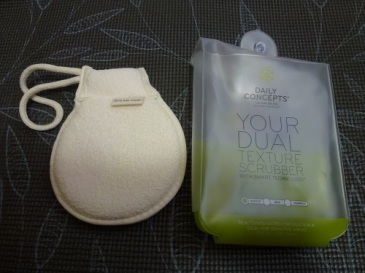 Daily Concepts Your Dual Texture Scrubber with Packaging
