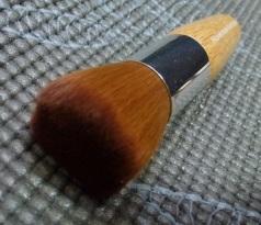 Close-up of brush bristles